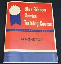 IH Only Farmall Magneto Service Manual Blue Ribbon Service Manual H4 A B C H M
