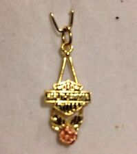 "Estate Authentic 10k Rose/Yellow Gold ""Harley Davidson"" Pendent"
