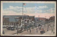 Postcard NEWPORT NEWS Virginia/VA  Navy Shipyard Entrance view 1910's
