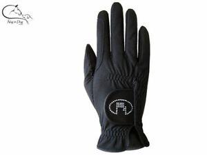 Roeckl Gloves Lisboa Adult Soft Leather Riding Gloves Black, Brown, White