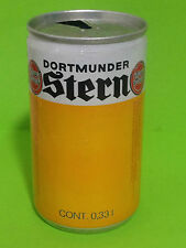 VINTAGE EMPTY BEER CAN 330ml. LATA CERVEZA - DORTMUNDER STERN - (CAN141)