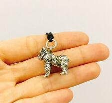 Gorilla Monkey Ape Silver back 92.5 Sterling Silver Necklace Pendant Jewelry