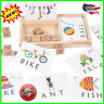 3-in-1 Spelling Learning Game Wooden Spelling Words Enlightenment Baby 2019