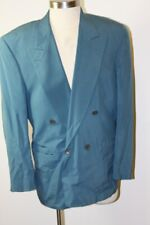 Vintage 100% Silk Sports Coat, Bill Robin Son, I. Magnin, Double-Breasted