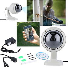 Wireless IP Camera Dome IR Night Vision WiFi IR-Cut Outdoor Security Cam FT