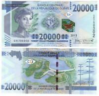 UNC Guniea 20000 Francs (2015) P-50