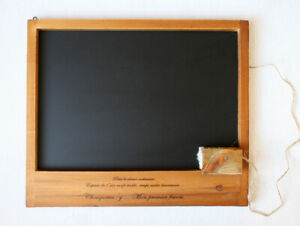 Vintage Style Wood ChalkBoard Blackboard Memo Message Board (On Sale)