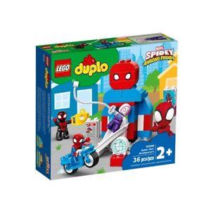 Set Costruzioni Lego Duplo Quartier Generale Spider-Man, età 2+