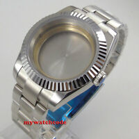 40mm sapphire glass Watch Case fit ETA 2824 2836 8215 821A automatic MOVEMENT