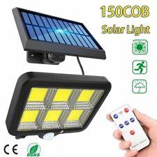 Outdoor 150 Led Wall Solar Light Motion Sensor Garden Path Security Spotlights
