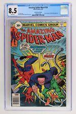 Amazing Spider-Man #159 - Marvel 1976 CGC 8.5 -Doctor Octopus- 30 Cent Variant!