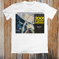 2001 A Space Odyssey 1960s Retro Movie Poster Unisex T Shirt