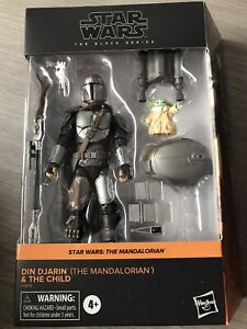 Star Wars The Black Series The Mandalorian Din Djarin The Child Grogu Brand New