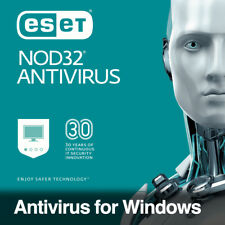 ESET NOD32 Antivirus 2018 / 1 USER - 1 YEAR Digital License Key Instant Delivery