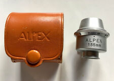 Vintage accessory Viewfinder for 135mm lens by Alpex Japan