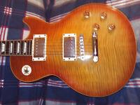 Lawsuit Maison  Honey Burst AAAA Flame Top Guitar.