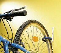 Bike Wall Mounted Hook Rack Holder Wheel Protected