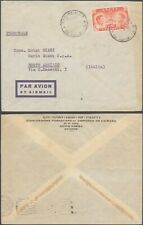 Ethiopia - Air Mail cover to Italy D57