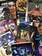 Various 4K Ultra HD, 3D, Blu-Ray & DVD Slipcovers ONLY - NO MOVIE DISC INCLUDED