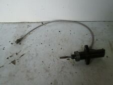 BMW E36 M3 clutch slave cylinder with braided clutch line
