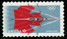 Canada #2556i 2012 London Summer Olympics Die-Cut from Booklet MNH