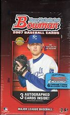 2007 Bowman - Baseball,  HTA Jumbo Pack Factory Sealed Hobby Box