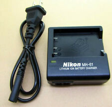 MH-61 Battery Charger for Nikon EL5 EN-EL5 7900 P6000 5200 5900p100