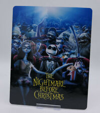 THE NIGHTMARE BEFORE CHRISTMAS - Bluray Steelbook Magnet Cover (NOT LENTICULAR)