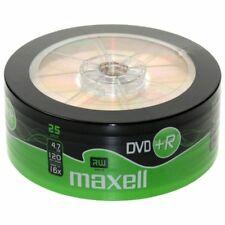 200 Maxell DVD +R 4.7 GB 120 Minuti 16x Pack Shrink Wrap 275735.40.TW