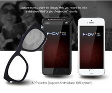 Smart Live Streaming Glasses FHD 1080P Cap Hidden WIFI Camera Video Camecorders
