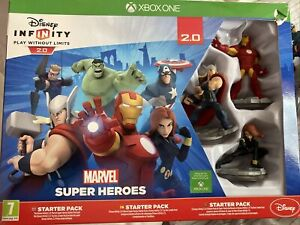 Disney Infinity 2.0 Starter Pack Xbox One + Additional Figures BOXED
