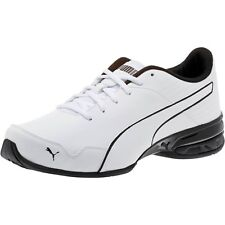 35fd4a7915adf3 Men s Puma Super Levitate Running Shoes White Black 19097401 WBK