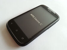 HTC DESIRE C 4GB BLACK NEU-VIELE EXTRAS-OHNE SIMLOCK-24 MONATE GEWÄHRLEISTUNG