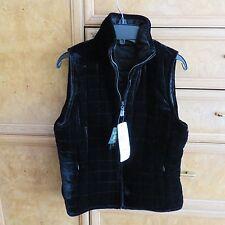 Women's Ralph Lauren reversible puffer vest black size P-PT brand new NWT $169