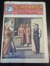 FUMETTO NICK CARTER IL GRAN POLIZIOTTO AMERICANO 1930 FASCICOLO N°172 IK-11-180