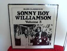 SONNY BOY WILLIAMSON Blues Classics Vol 3 LP SEALED Vinyl Arhoolie Records BC 24