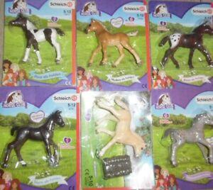 Schleich Horse Club verschiedene Fohlen zur Auswahl neu & im Blister
