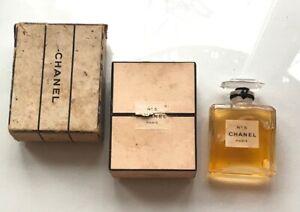 20-50s RARE CHANEL No 5 Parfum Vintage T.P.M. Perfume Extrait 14 ml Seems sealed