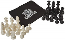 Quadruple Weight Tournament Chess Pieces Heavy Extra Large Set Triple Weighted