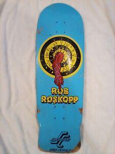 Santa Cruz Rob Roskopp Target 1 Reissue Skateboard Deck *WARPED*