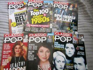 U.K. Classic Pop Magazine Lot 6 2014 Madonna, Kate Bush, Human League, Spandau