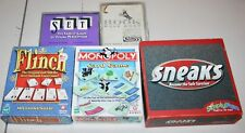 Set of 5 more classic card games - all  are complete and very good condition
