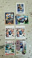 INDIANAPOLIS COLTS PEYTON MANNING / ELI MANNING ROOKIE CARD LOT 8X HIGH GRADE MT