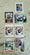 New listing INDIANAPOLIS COLTS PEYTON MANNING / ELI MANNING ROOKIE CARD LOT 8X HIGH GRADE MT