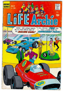 LIFE WITH ARCHIE #99 in VG/FN condition a 1970 Silver Age Archie comic
