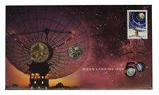 2019 Australian $1 One Dollar & 5c Five Cent Moon PNC D11-3313
