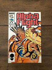 Alpha Flight Marvel Comic Book #49 August 1987 VF