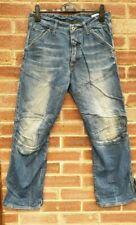 G-STAR Men's Blue Faded Jeans Trousers RN 104506 / CA 41169 Size W 32 / L 30