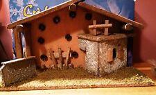Nativity Set Kurt S Adler Creche 10 Pc Light 9 Porcelain Figurines Christmas NIB