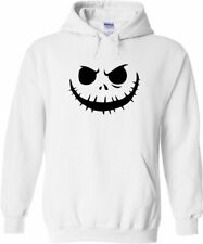 Nightmare Before Christmas Halloween Jack Skellington Pullover Hoodie Sweater